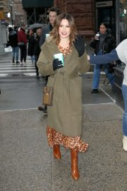 Ashley Tisdale - Outside the BUILD Series in New York City
