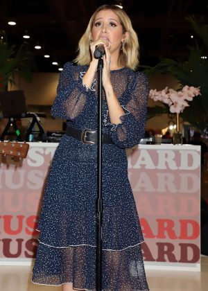 Ashley Tisdale - Performing Live at Fashion Go's Opening Night Happy Hour in Las Vegas
