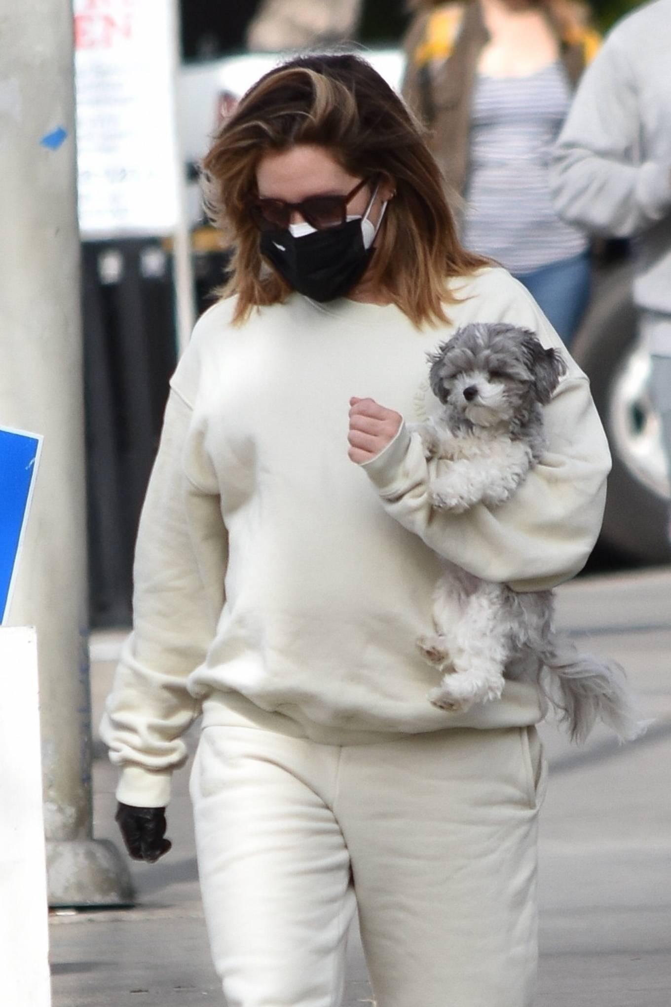 Ashley Tisdale - Run errands in Los Angeles