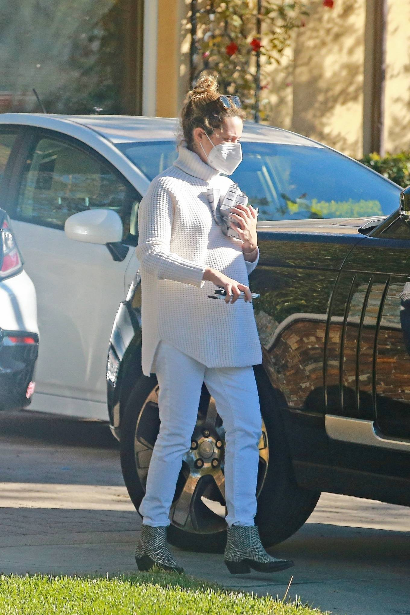 Ashley Tisdale 2020 : Ashley Tisdale – Running errands in Los Angeles-09