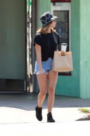 Ashley Tisdale - Running errands in Los Feliz