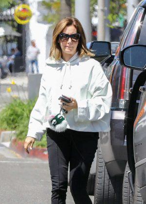 Ashley Tisdale - Running errands in Studio City