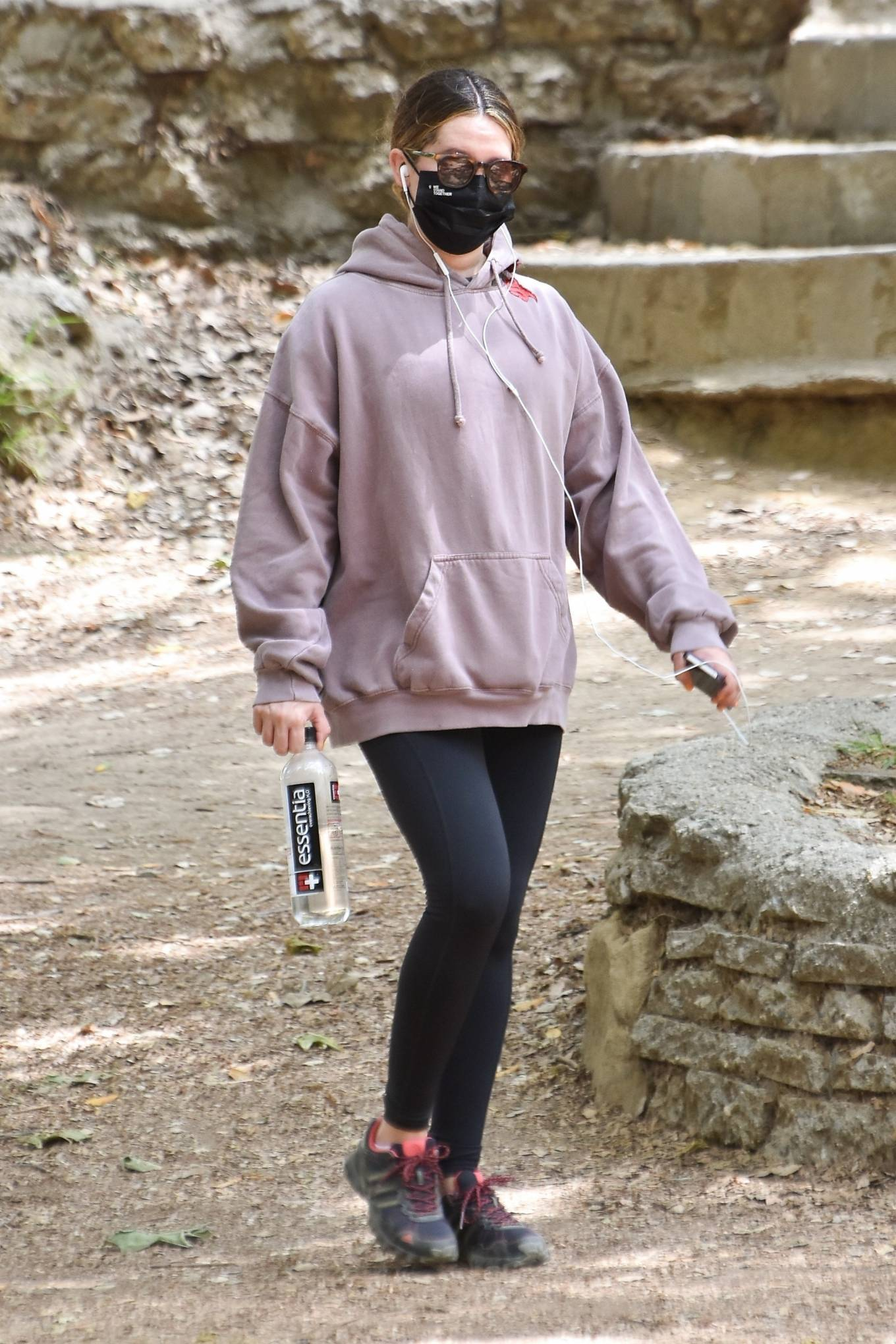 Ashley Tisdale 2021 : Ashley Tisdale – Seen on a hike in Los Feliz-01