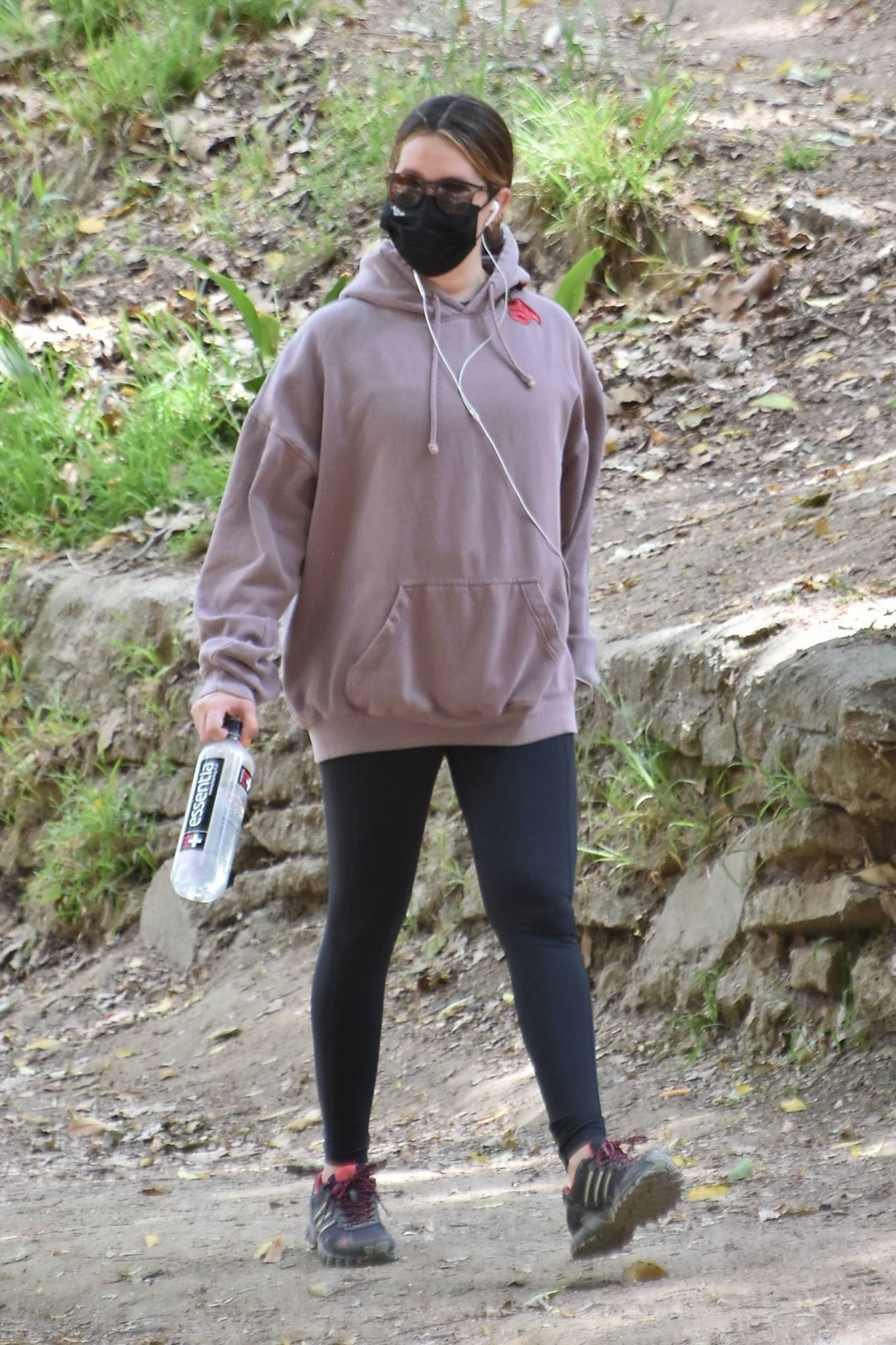 Ashley Tisdale 2021 : Ashley Tisdale – Seen on a hike in Los Feliz-02