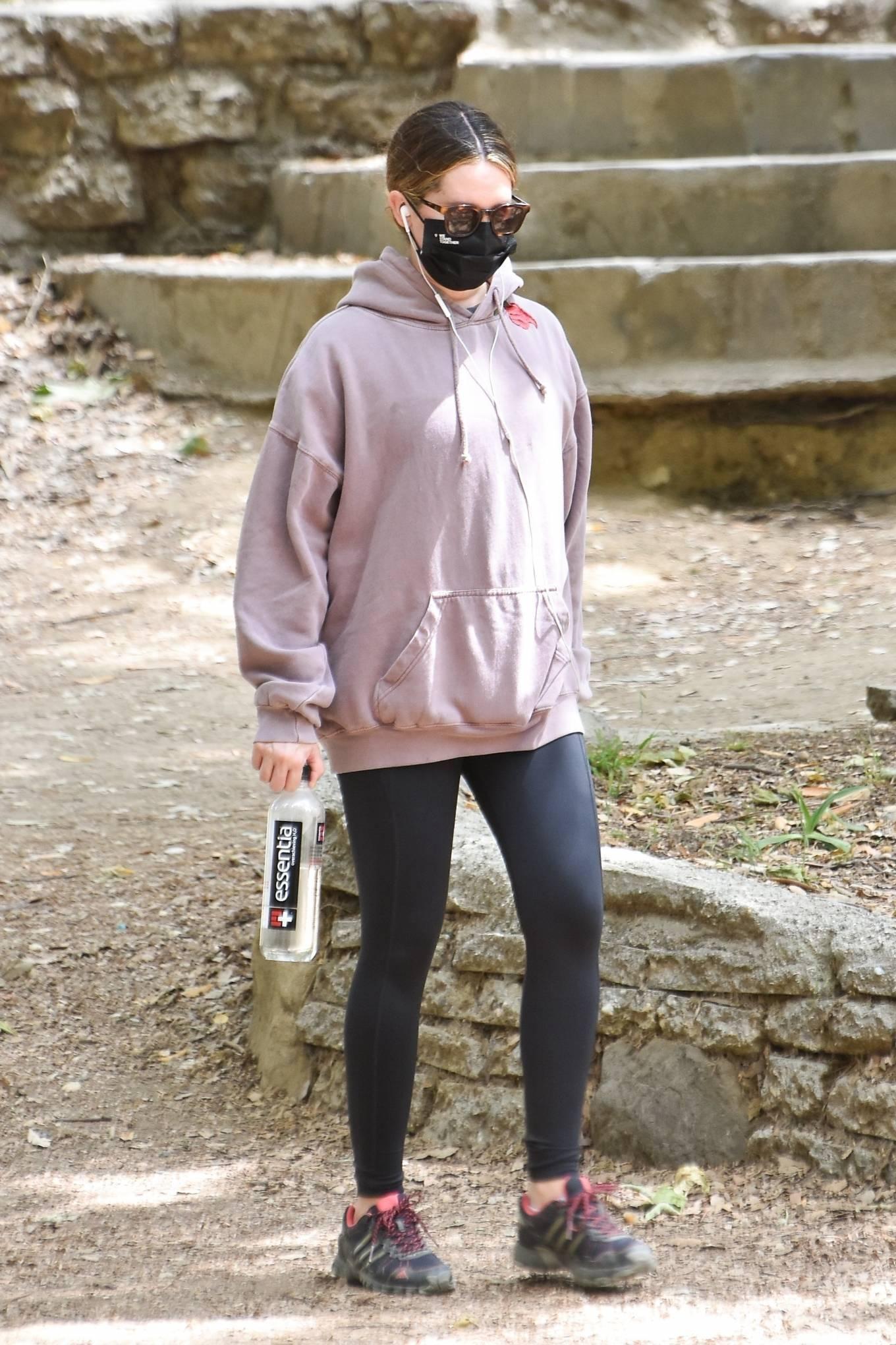 Ashley Tisdale 2021 : Ashley Tisdale – Seen on a hike in Los Feliz-03