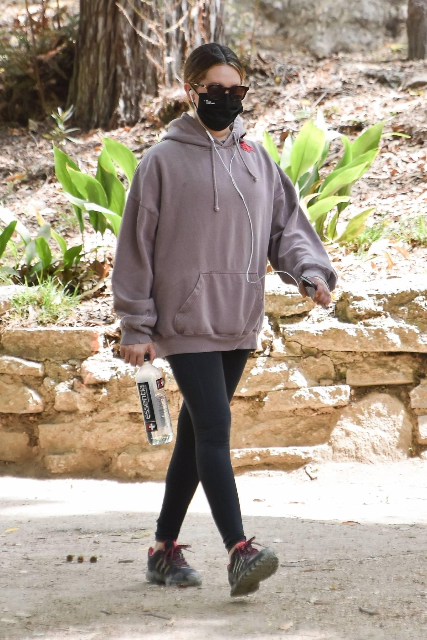 Ashley Tisdale 2021 : Ashley Tisdale – Seen on a hike in Los Feliz-04
