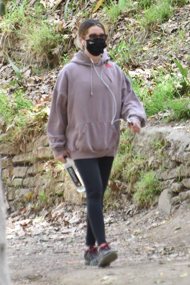 Ashley Tisdale - Seen on a hike in Los Feliz