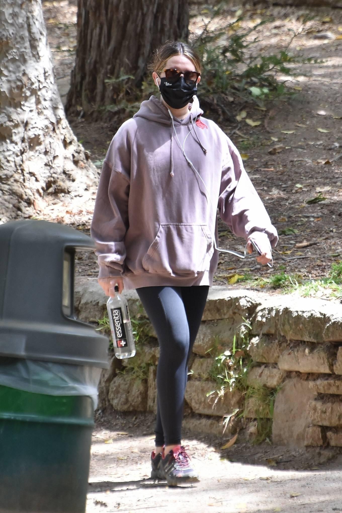 Ashley Tisdale 2021 : Ashley Tisdale – Seen on a hike in Los Feliz-08