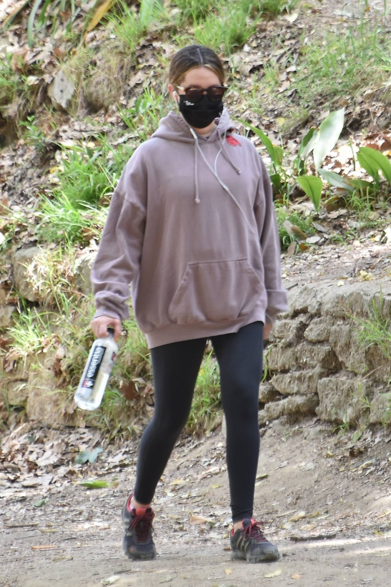 Ashley Tisdale 2021 : Ashley Tisdale – Seen on a hike in Los Feliz-11