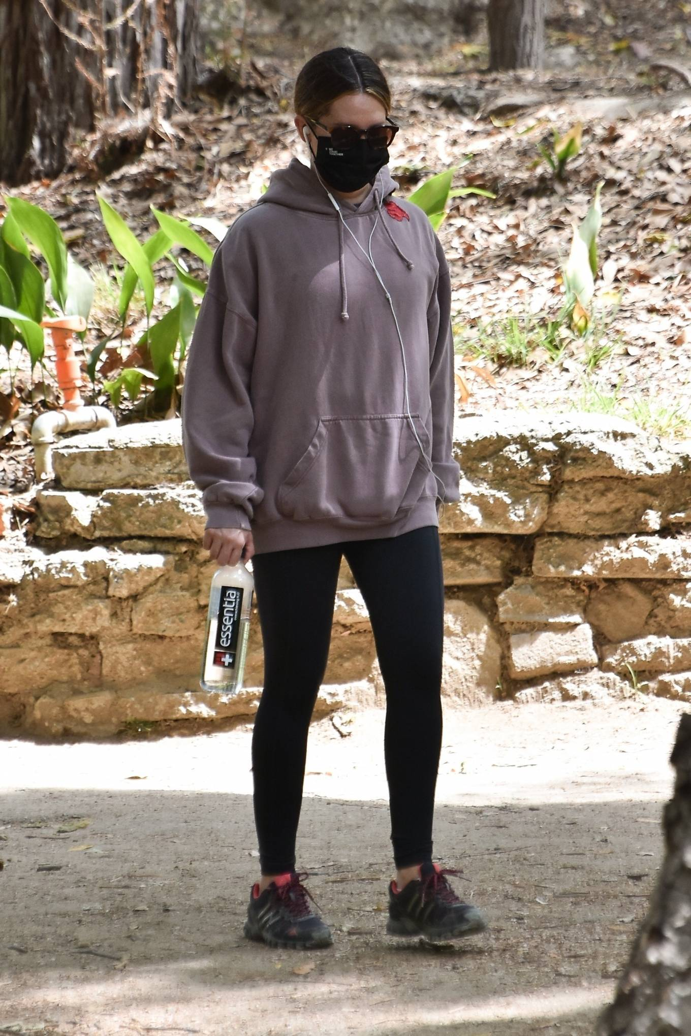 Ashley Tisdale 2021 : Ashley Tisdale – Seen on a hike in Los Feliz-12