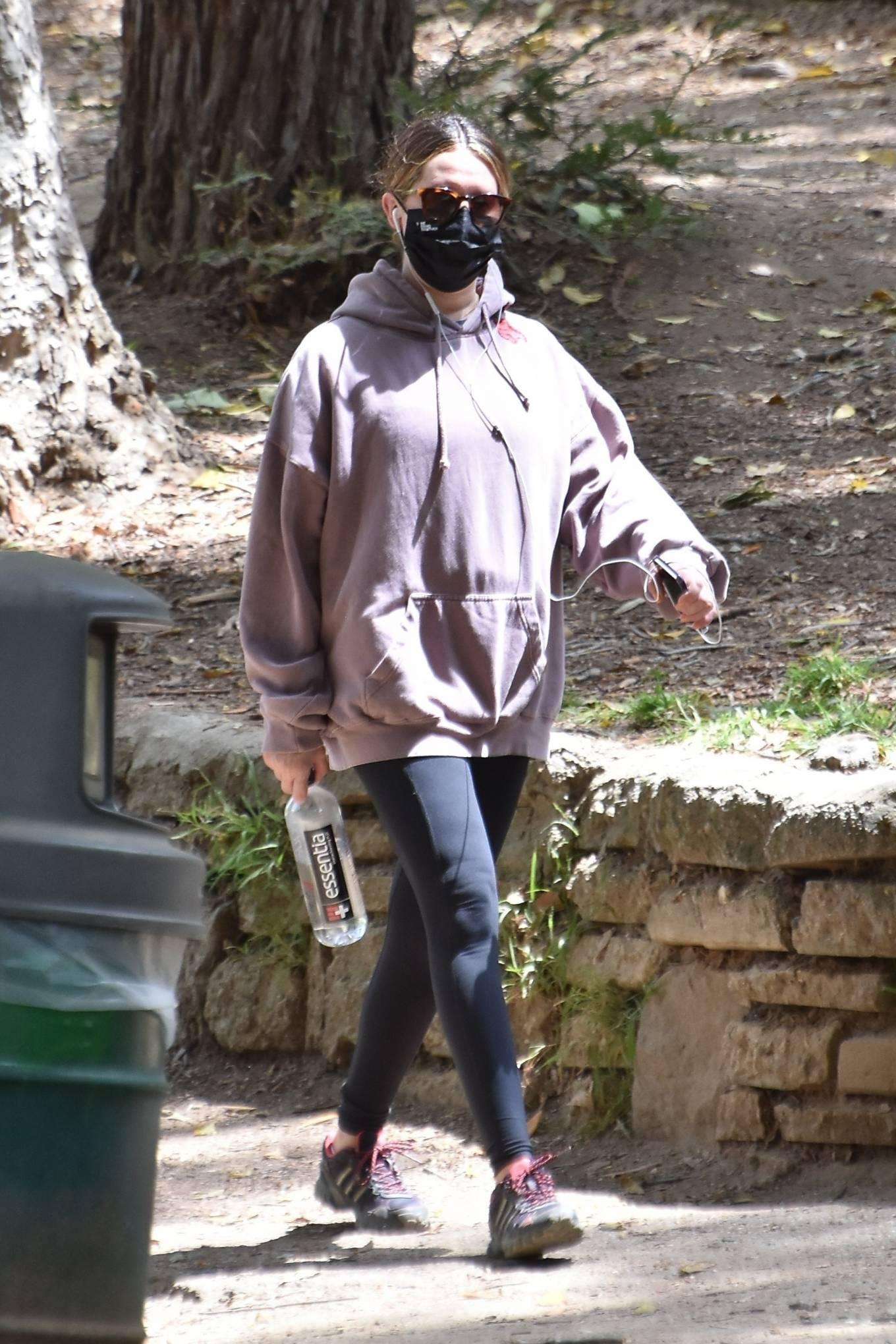 Ashley Tisdale 2021 : Ashley Tisdale – Seen on a hike in Los Feliz-14