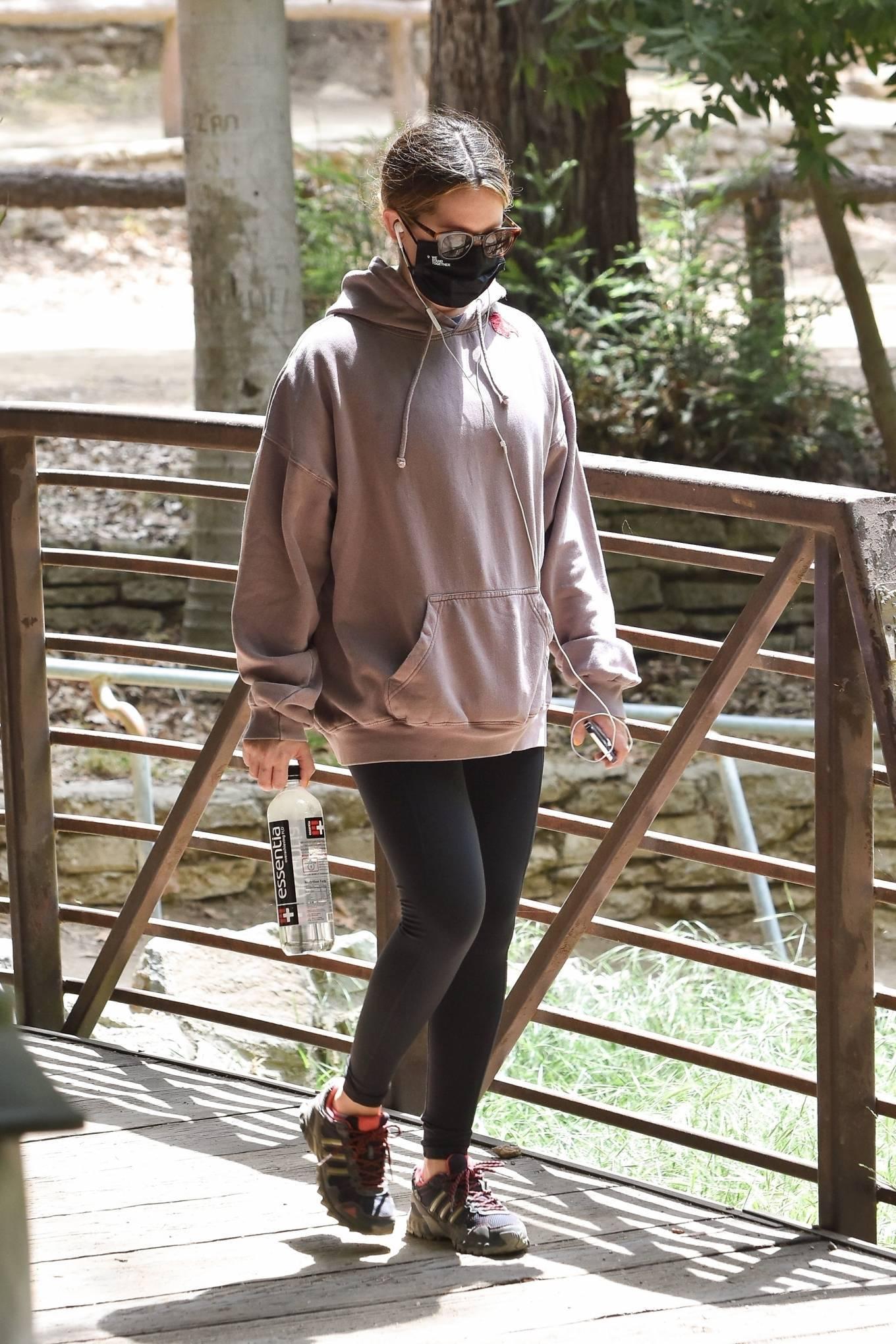 Ashley Tisdale 2021 : Ashley Tisdale – Seen on a hike in Los Feliz-16