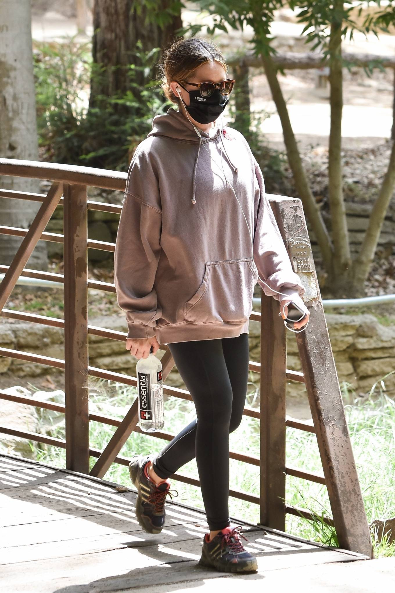 Ashley Tisdale 2021 : Ashley Tisdale – Seen on a hike in Los Feliz-18