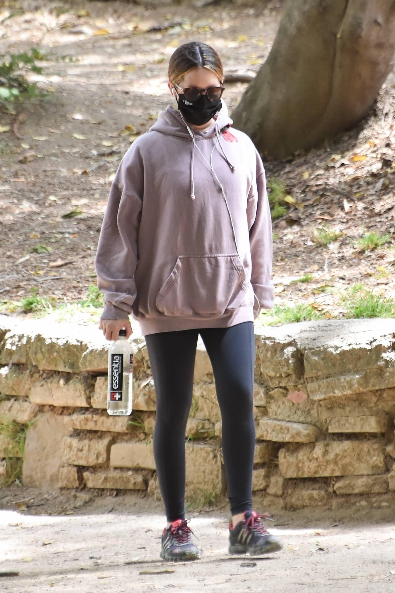 Ashley Tisdale 2021 : Ashley Tisdale – Seen on a hike in Los Feliz-20