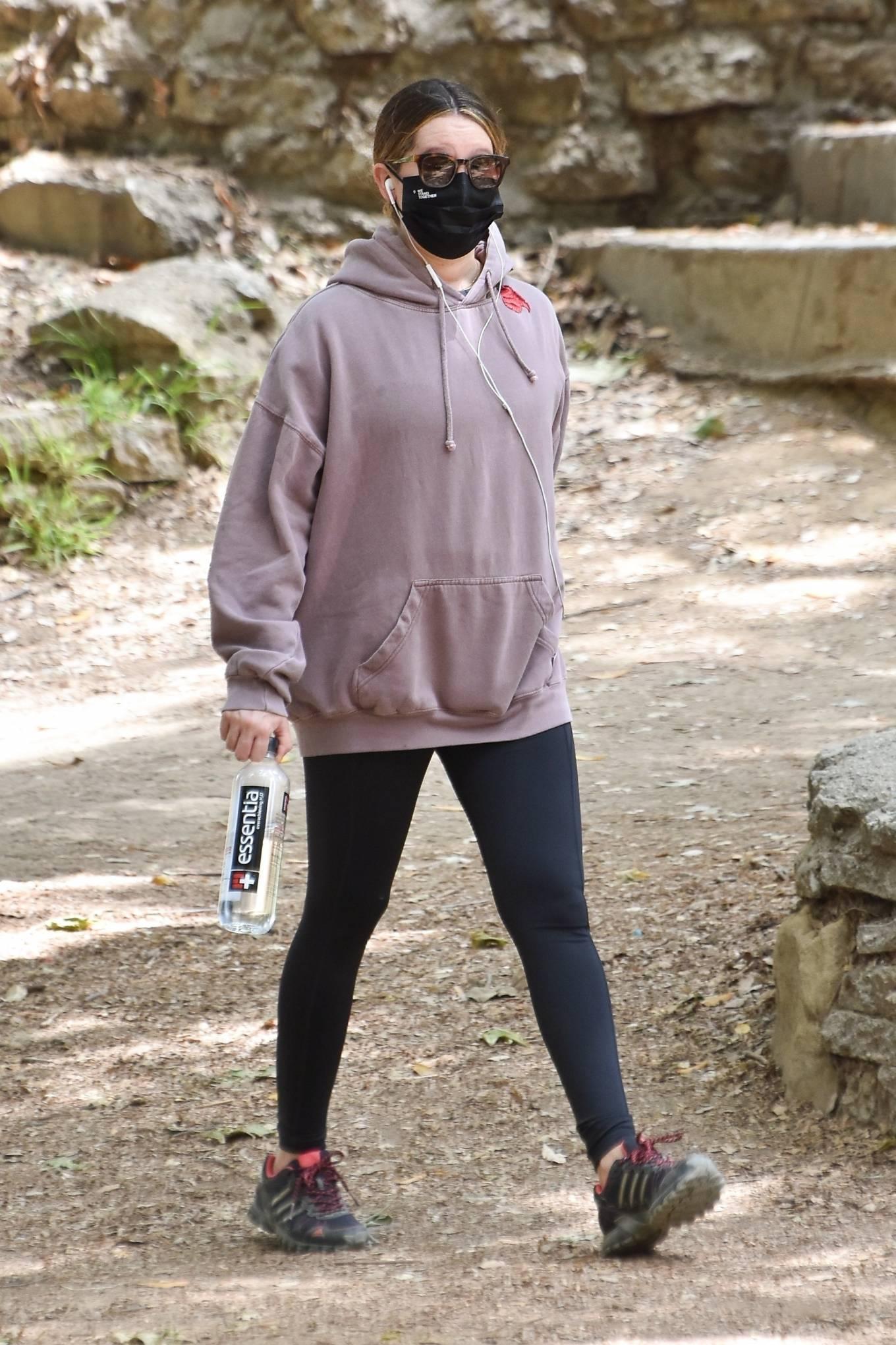 Ashley Tisdale 2021 : Ashley Tisdale – Seen on a hike in Los Feliz-23