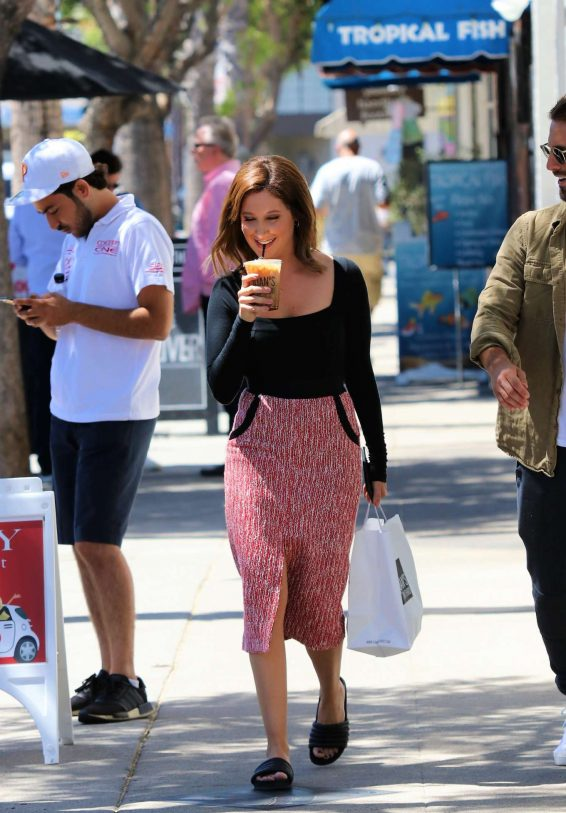 Ashley Tisdale 2019 : Ashley Tisdale – Seen outside Joans on Third in Studio City-04