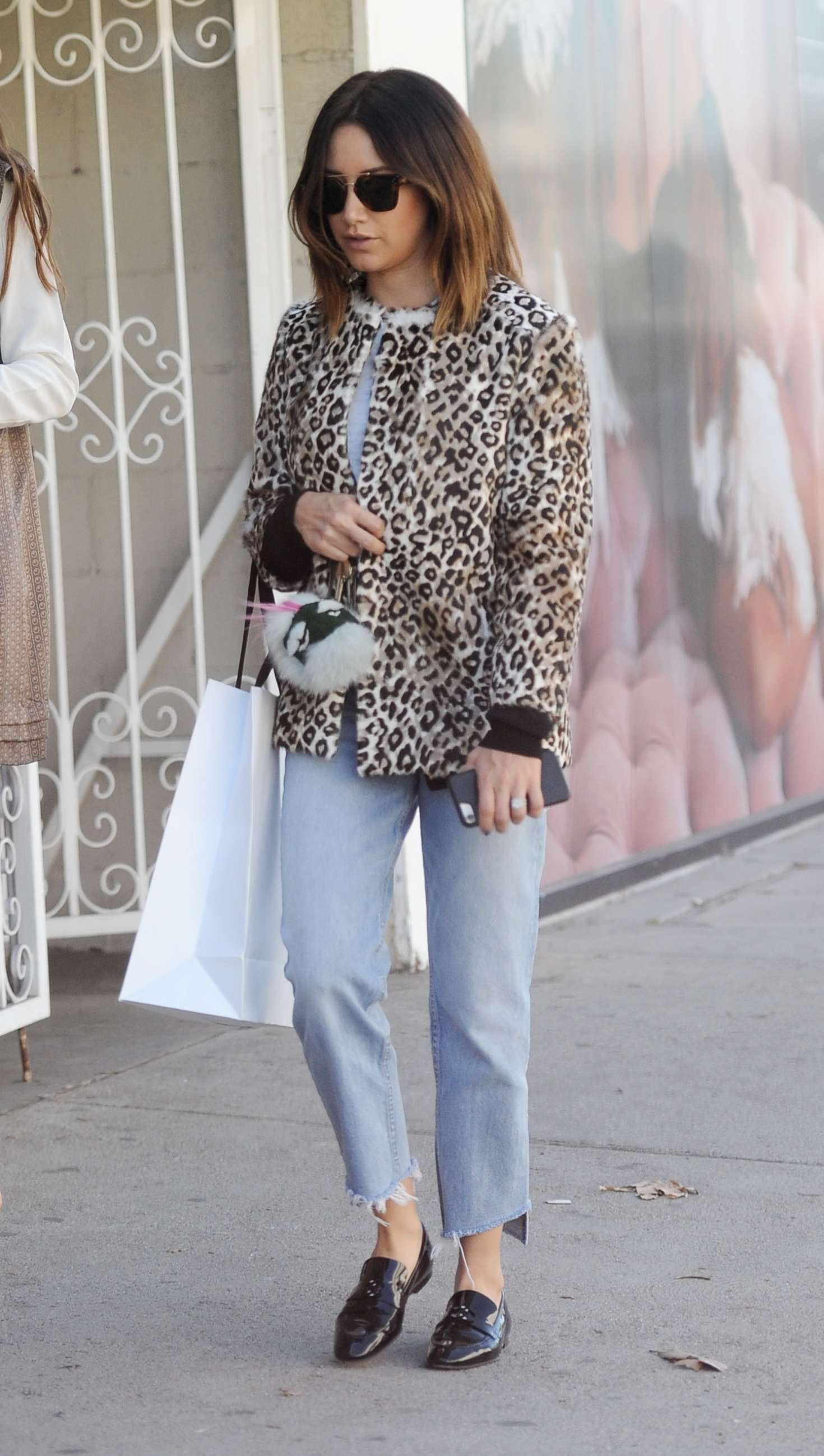 Ashley Tisdale - Shopping at Revolve on Melrose in West Hollywood