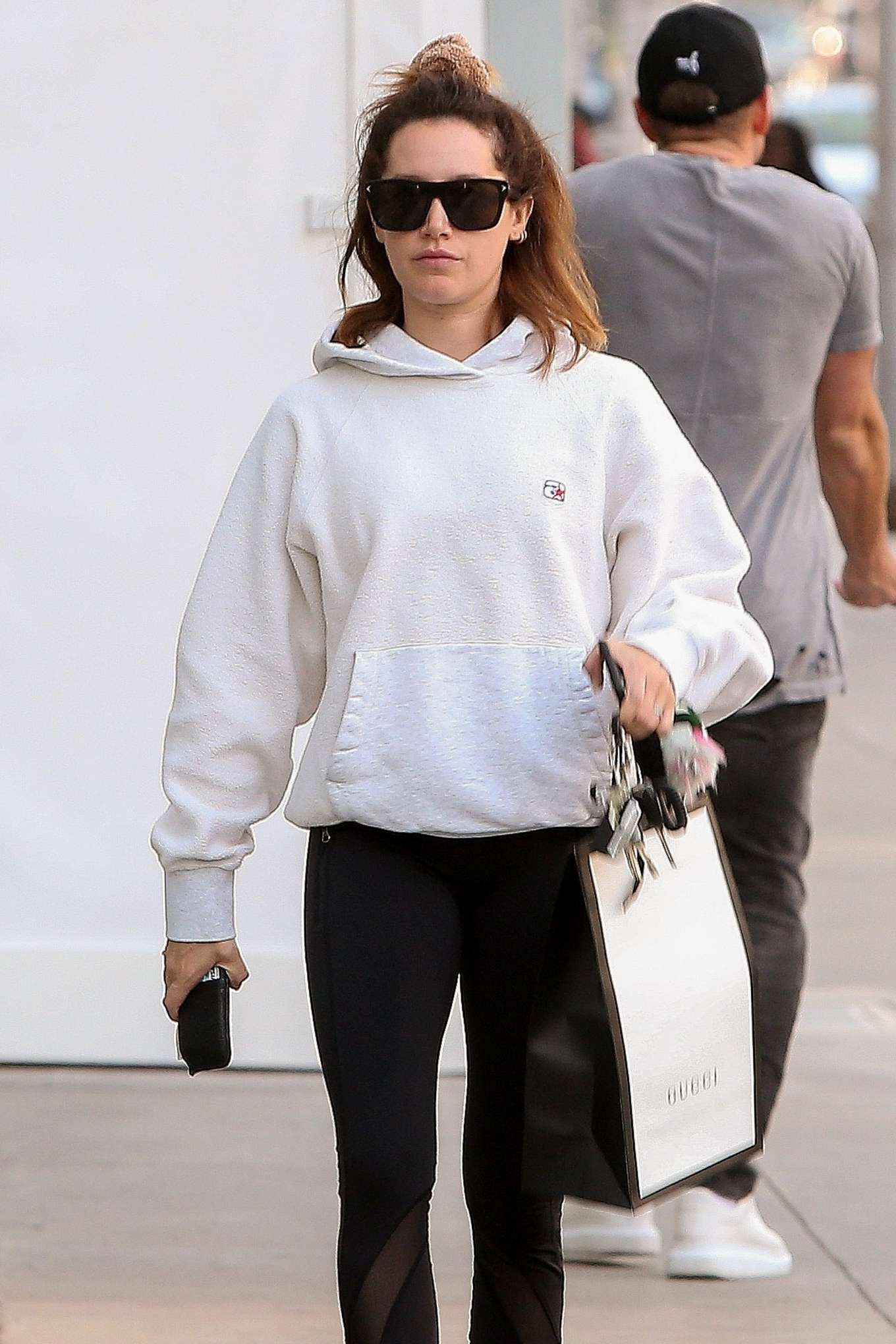 Ashley Tisdale - Shopping at the Gucci store in Beverly Hills