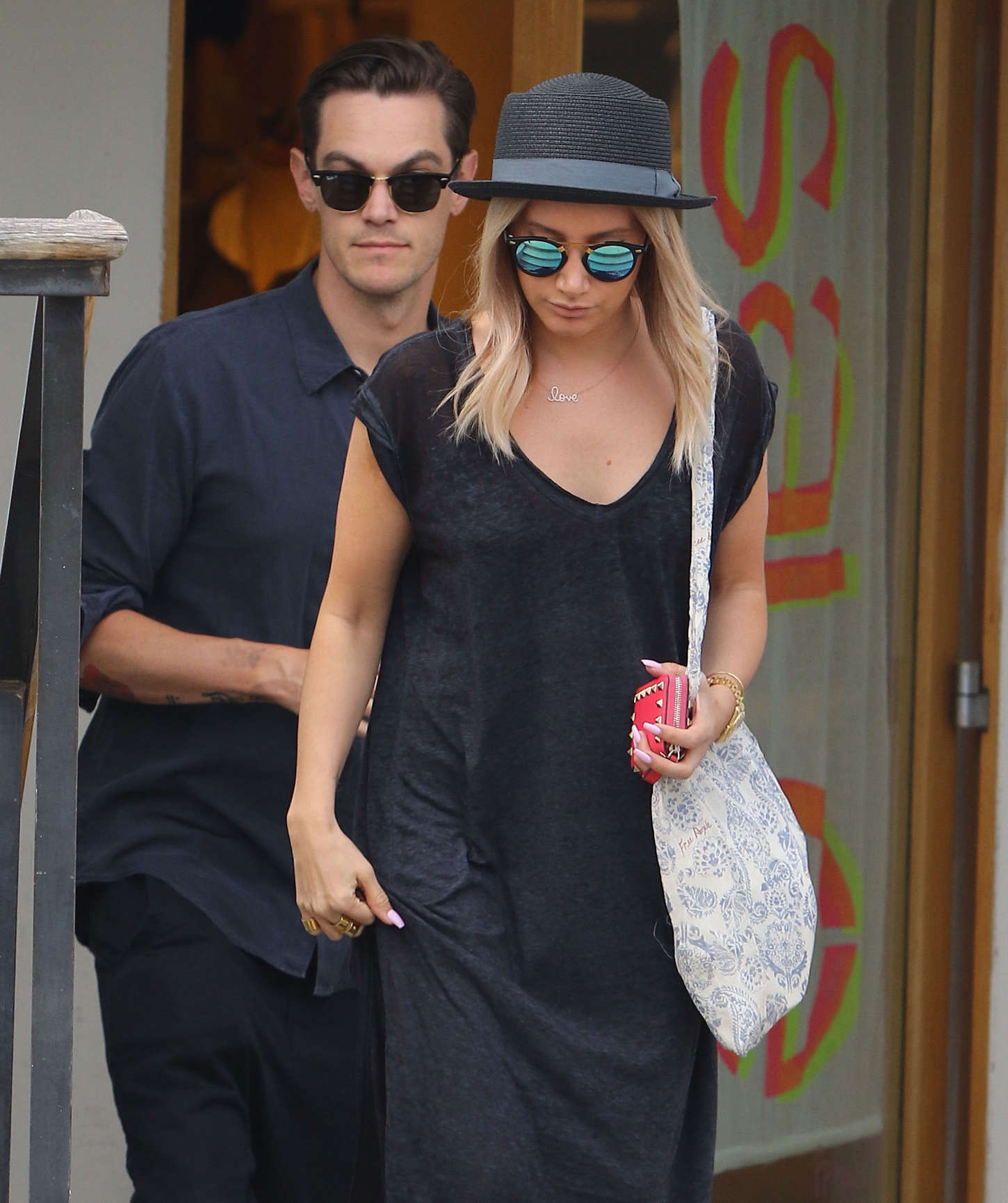 Ashley Tisdale 2015 : Ashley Tisdale in Long Dress -04