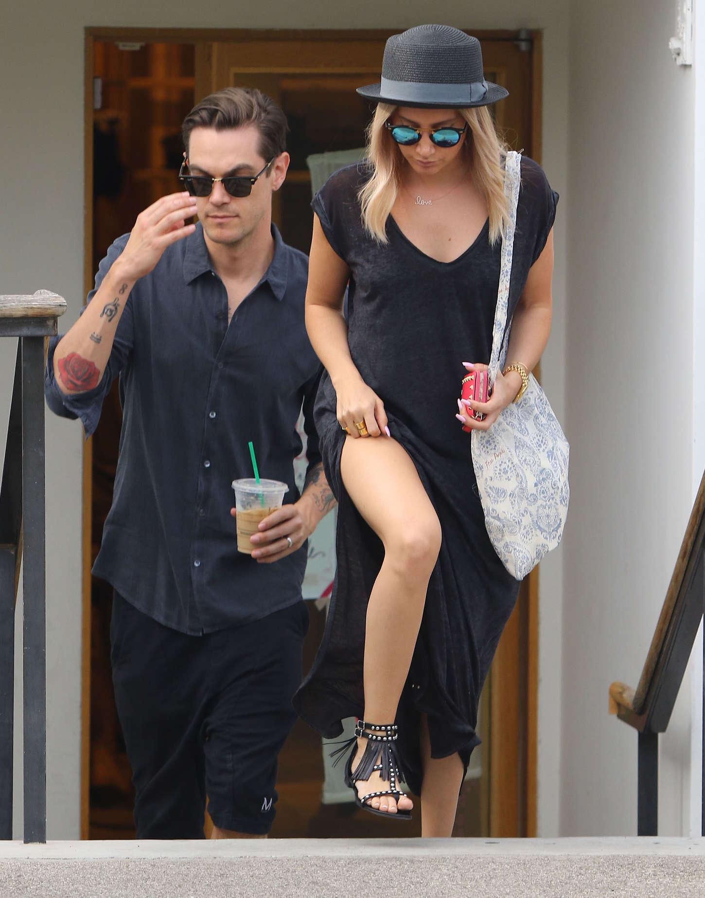 Ashley Tisdale 2015 : Ashley Tisdale in Long Dress -09