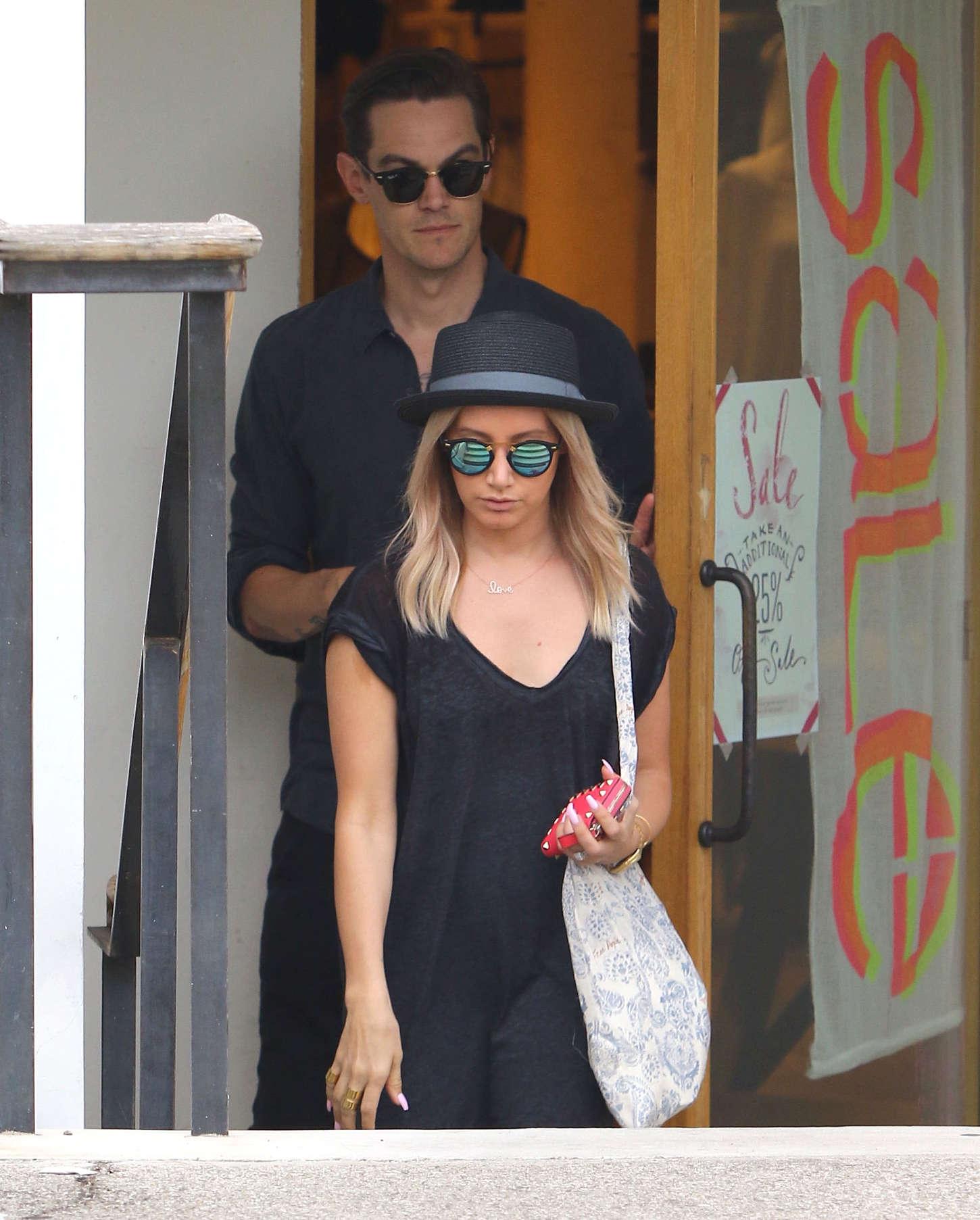 Ashley Tisdale 2015 : Ashley Tisdale in Long Dress -11