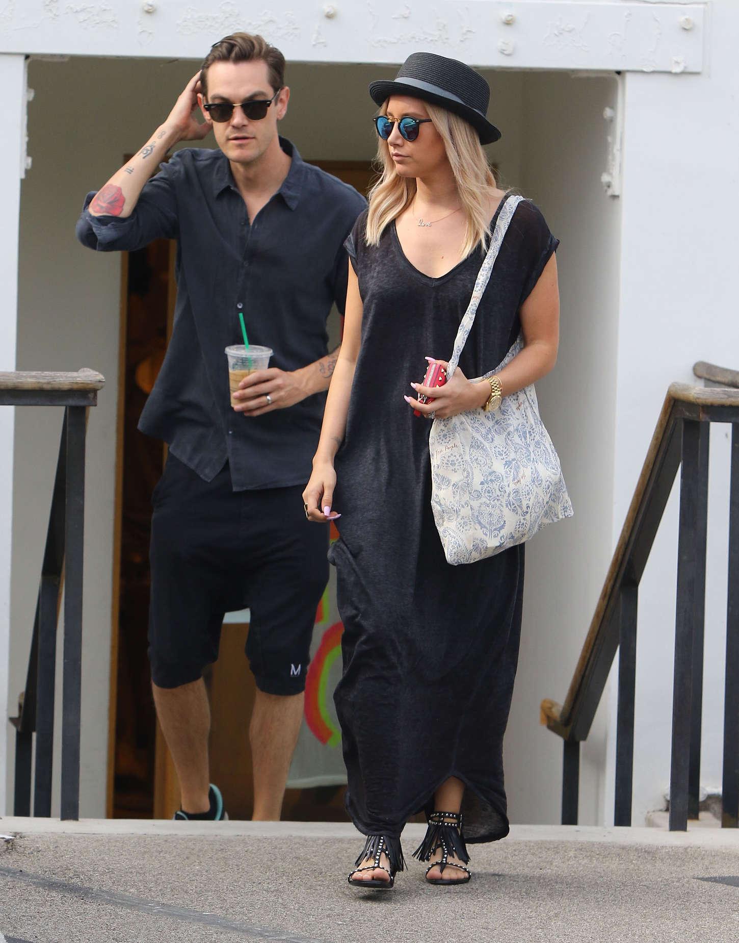 Ashley Tisdale 2015 : Ashley Tisdale in Long Dress -13