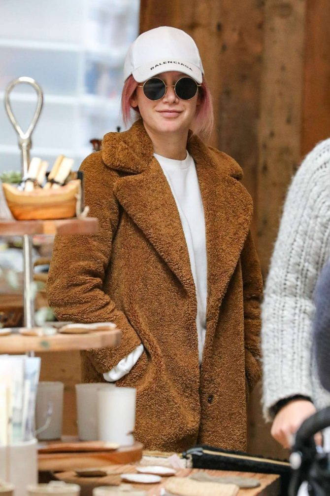 Ashley Tisdale - Shopping in Studio City