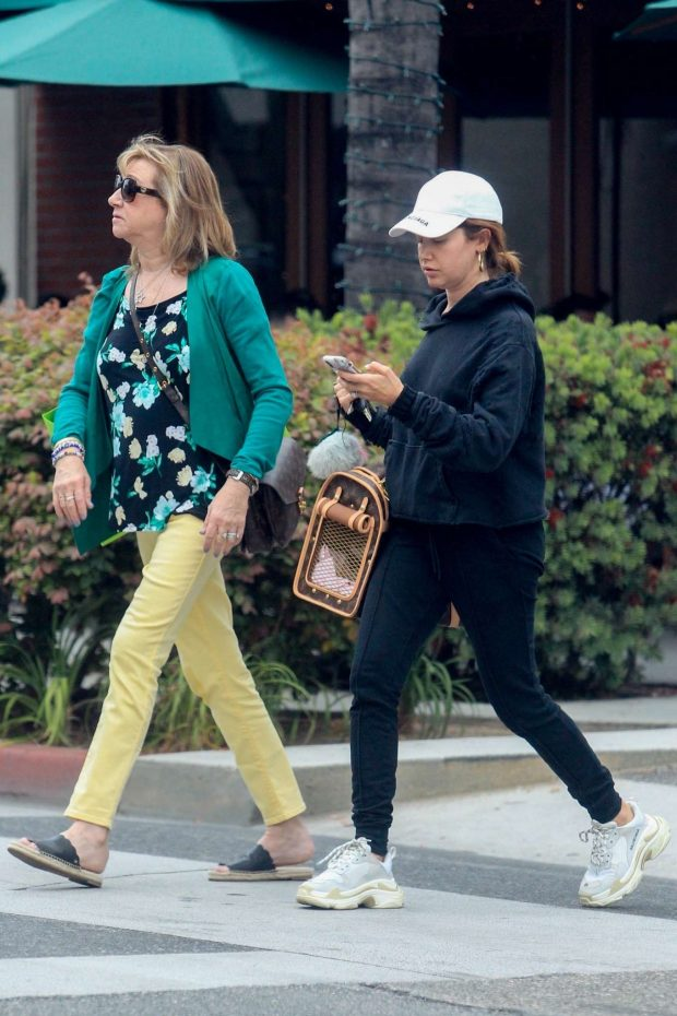 Ashley Tisdale - Shopping with her mom in Beverly Hills