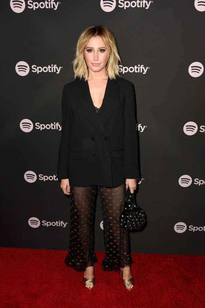 Ashley Tisdale – Spotify 'Best New Artist 2019' Event in LA