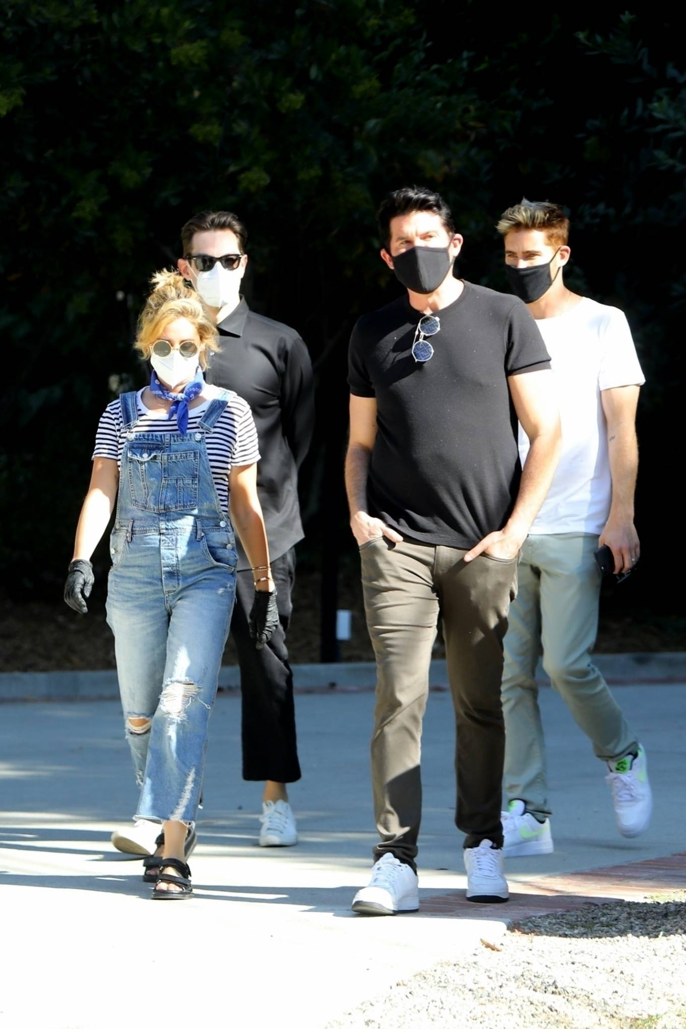 Ashley Tisdale 2020 : Ashley Tisdale – Spotted while hunting house in Los Angeles-03