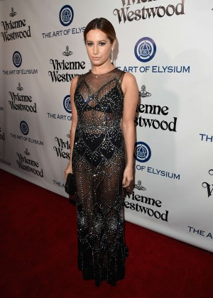 Ashley Tisdale - The Art of Elysium 2016 HEAVEN Gala in Culver City