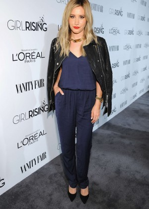 Ashley Tisdale - VANITY FAIR and L'Oreal Paris D.J. Night Benefit 2015 in LA