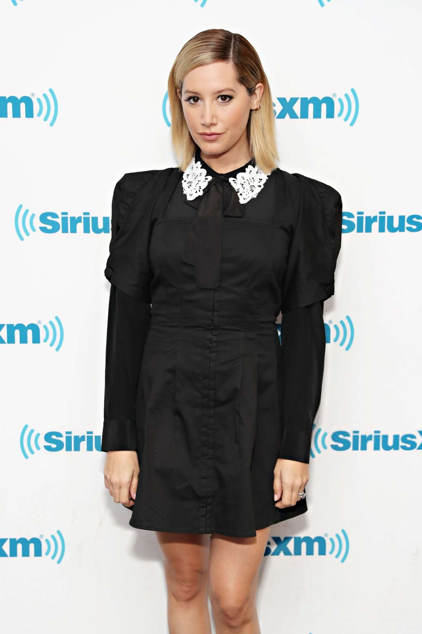 Ashley Tisdale - Visits the SiriusXM Studios in New York City