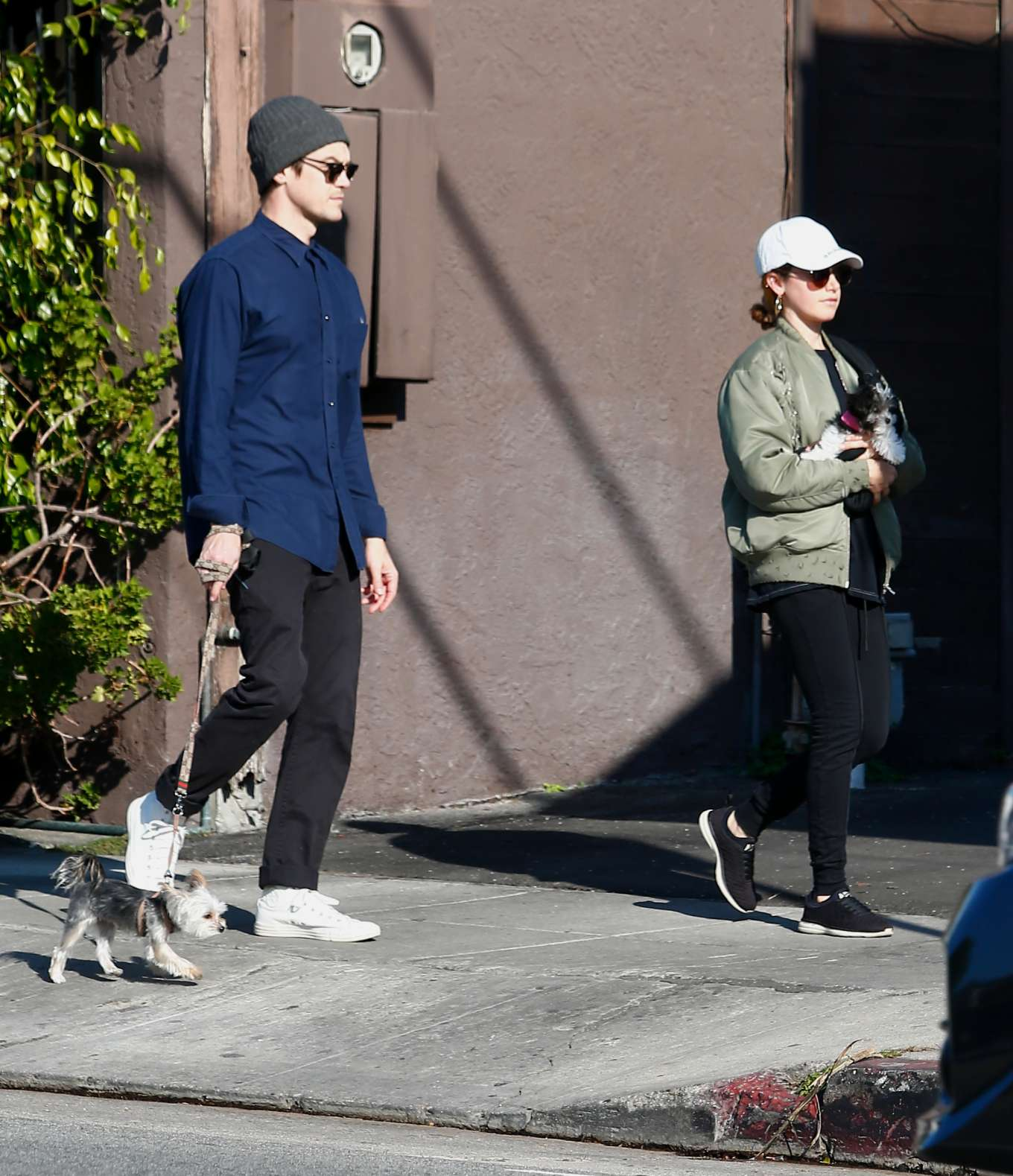 Ashley Tisdale 2020 : Ashley Tisdale with her husband out in Los Feliz-02