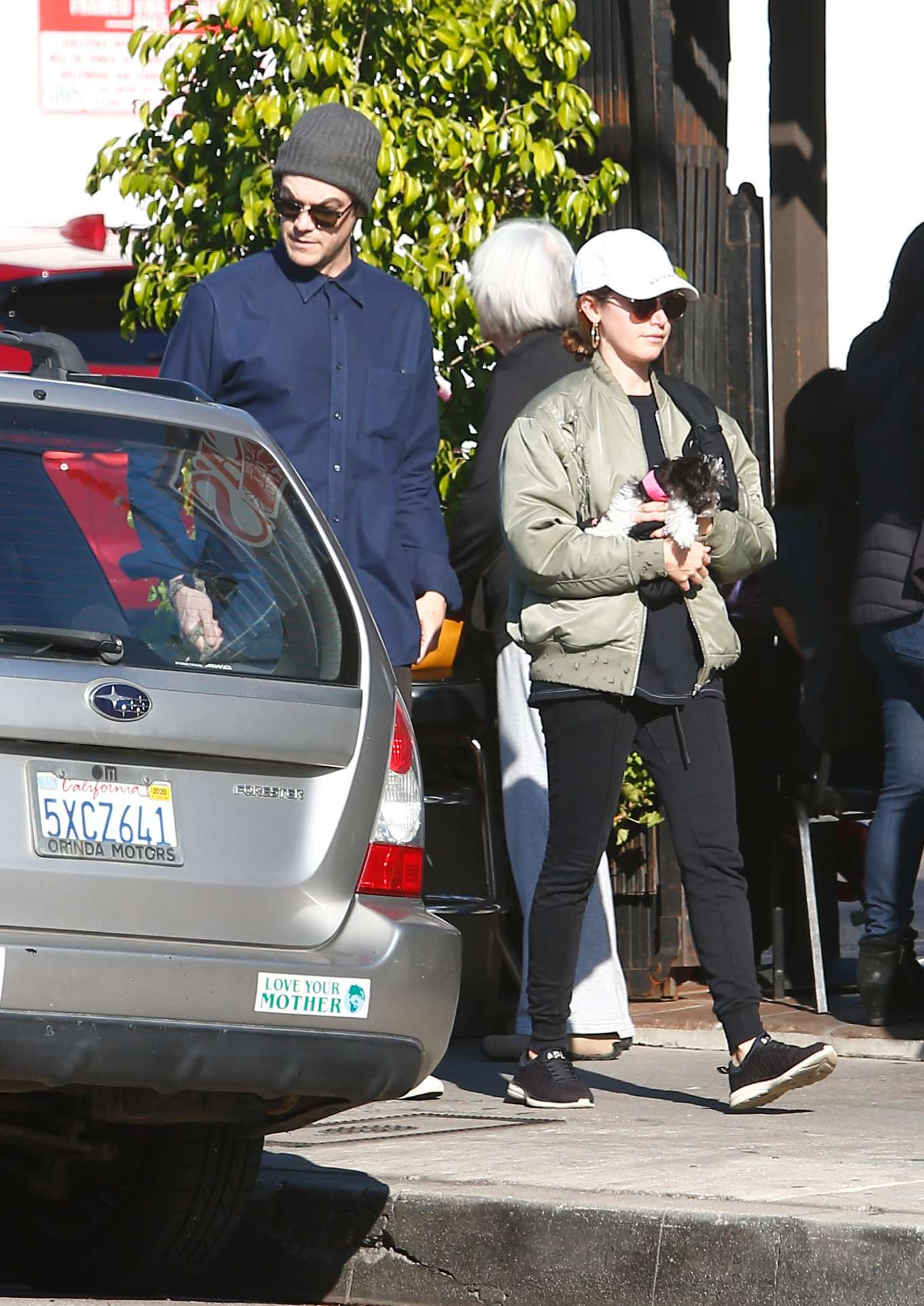 Ashley Tisdale 2020 : Ashley Tisdale with her husband out in Los Feliz-05