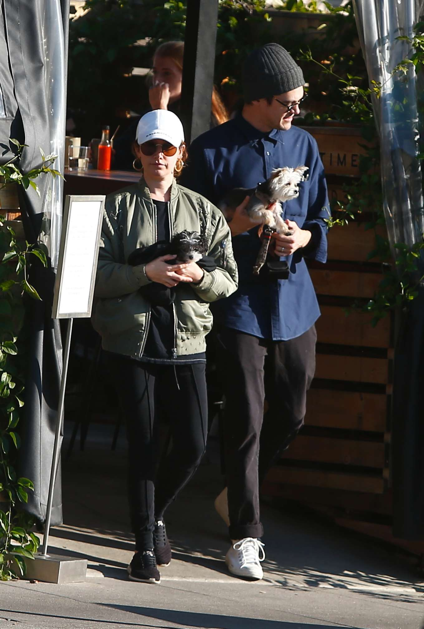 Ashley Tisdale 2020 : Ashley Tisdale with her husband out in Los Feliz-06