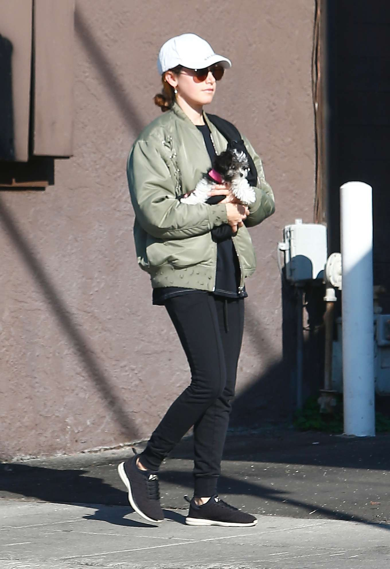 Ashley Tisdale 2020 : Ashley Tisdale with her husband out in Los Feliz-09