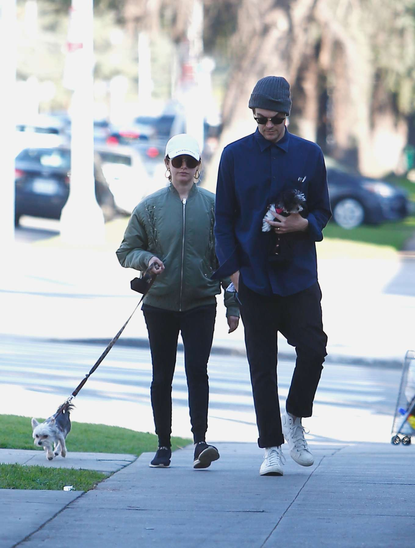 Ashley Tisdale 2020 : Ashley Tisdale with her husband out in Los Feliz-10
