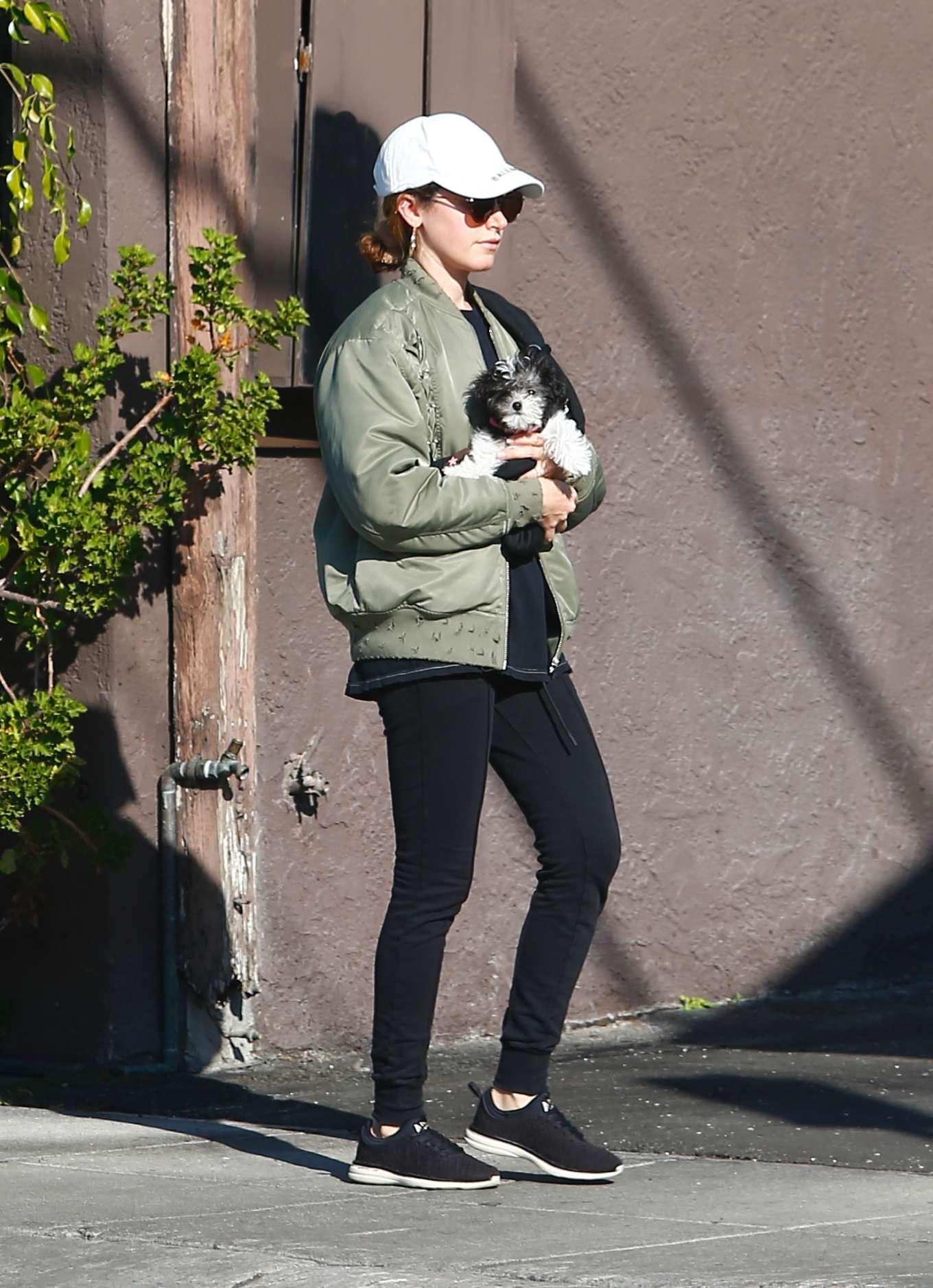 Ashley Tisdale 2020 : Ashley Tisdale with her husband out in Los Feliz-11