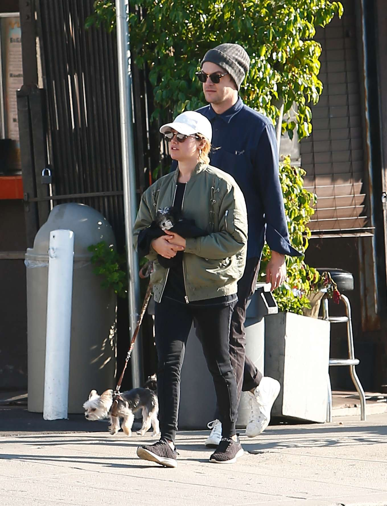Ashley Tisdale 2020 : Ashley Tisdale with her husband out in Los Feliz-12