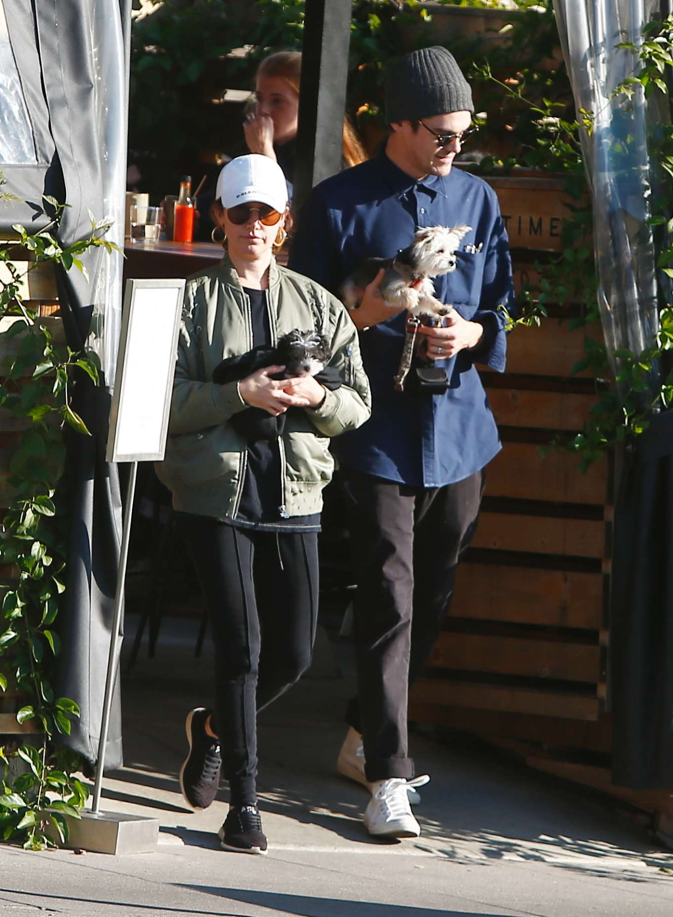 Ashley Tisdale 2020 : Ashley Tisdale with her husband out in Los Feliz-13