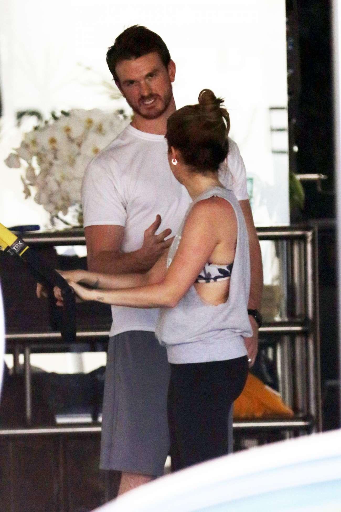 Ashley Tisdale 2015 : Ashley Tisdale: Workout at a gym -05