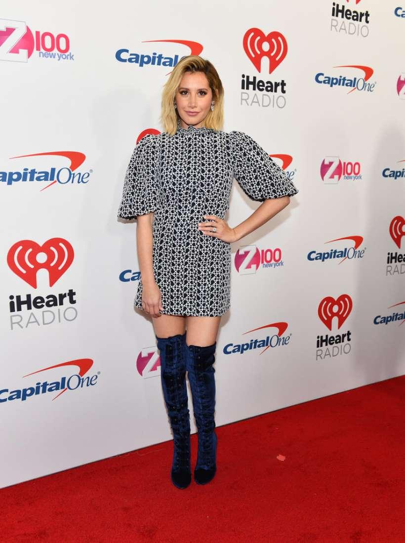 Ashley Tisdale 2018 : Ashley Tisdale: Z100s Jingle Ball 2018 in NYC-02