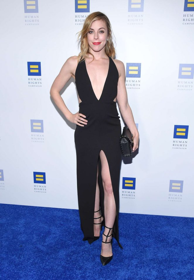 Ashley Wagner – 2018 Human Rights Campaign Gala Dinner in LA
