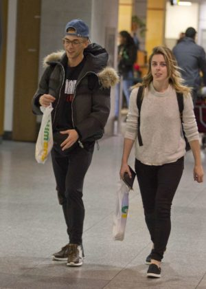 Ashley Wagner - Arriving in Montreal