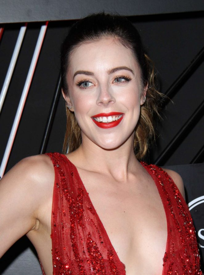 Ashley Wagner: BODY at ESPYS party 2017 -18 - GotCeleb