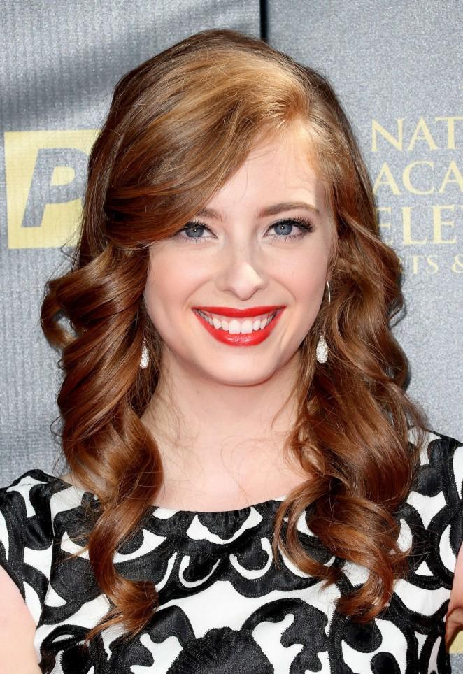 Ashlyn Pearce - 2015 Daytime Emmy Awards in Burbank