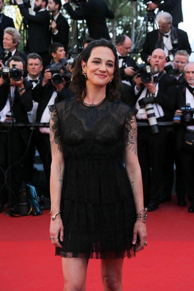 Asia Argento - 'Ismael's Ghosts' Screening at 70th Annual Cannes Film Festival in France