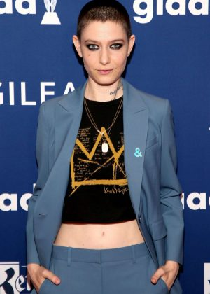 Asia Kate Dillon - 2018 GLAAD Media Awards in New York
