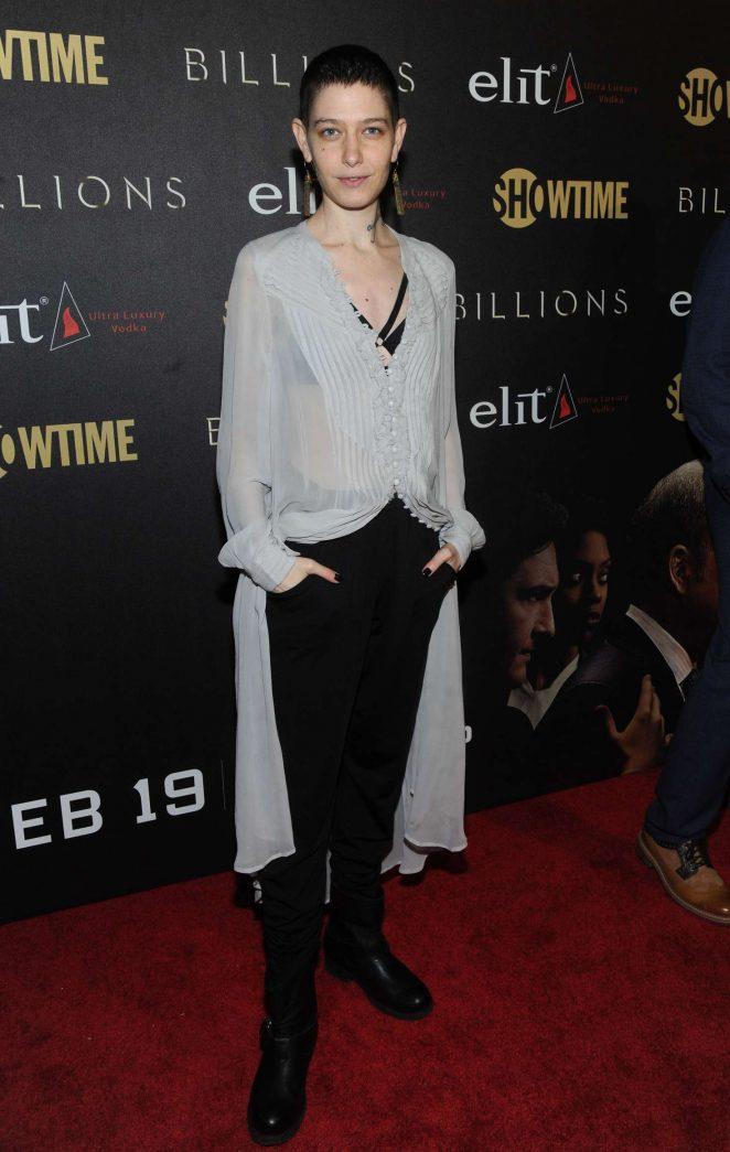 Asia Kate Dillon - 'Billions' Premiere Season 2 in New York